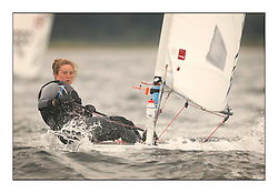 Hannah Snellgrove, GBR 195123.Day 2 brought Easterly changeable conditions for the Laser Radial World Championships, taking place at Largs, Scotland GBR. ..118 Women from 35 different nations compete in the Olympic Women's Laser Radial fleet and 104 Men from 30 different nations. .All three 2008 Women's Laser Radial Olympic Medallists are competing. .The Laser Radial World Championships take place every year. This is the first time they have been held in Scotland and are part of the initiaitve to bring key world class events to Britain in the lead up to the 2012 Olympic Games. .The Laser is the world's most popular singlehanded sailing dinghy and is sailed and raced worldwide. ..Further media information from .laserworlds@gmail.com.event press officer mobile +44 7775 671973  and +44 1475 675129 .