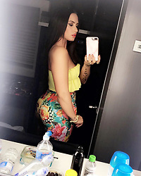 """Demi Lovato releases a photo on Instagram with the following caption: """"\ud83c\udf51\ud83c\udf51\ud83c\udf51"""". Photo Credit: Instagram *** No USA Distribution *** For Editorial Use Only *** Not to be Published in Books or Photo Books ***  Please note: Fees charged by the agency are for the agency's services only, and do not, nor are they intended to, convey to the user any ownership of Copyright or License in the material. The agency does not claim any ownership including but not limited to Copyright or License in the attached material. By publishing this material you expressly agree to indemnify and to hold the agency and its directors, shareholders and employees harmless from any loss, claims, damages, demands, expenses (including legal fees), or any causes of action or allegation against the agency arising out of or connected in any way with publication of the material."""