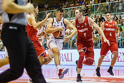 Vladko Cancar #31 of Slovenia during friendly basketball match between National teams of Slovenia and Hungary on day 1 of Adecco Cup 2017, on August 4th in Arena Tabor, Maribor, Slovenia. Photo by Grega Valancic/ Sportida