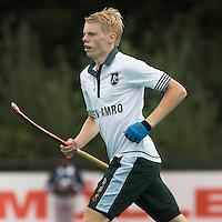 ROTTERDAM -  Jochem Bakker van HC Rotterdam tijdens de voorbereiding voor het hoofdklasse heren seizoen 2014/2015. COPYRIGHT KOEN SUYK