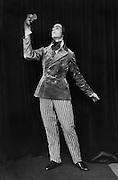 Leonide Massine as Eusebius in 'Le Carnaval', London, England, 1918