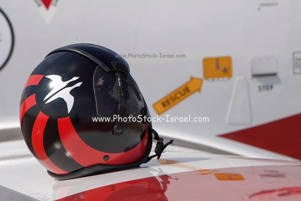 Israeli Air force (IAF) Flight Academy aerobatics team Helmets