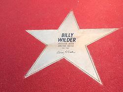 Star of Billy Wilder at new Boulevard der Stars a special boulevard tribute to movie stars  at Potsdamer Platz in Berlin opened 10 September 2010