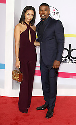 The 2017 American Music Awards at The Microsoft Theatre in Los Angeles, California on 11/19/17. 19 Nov 2017 Pictured: Corinne Foxx, Jamie Foxx. Photo credit: River / MEGA TheMegaAgency.com +1 888 505 6342
