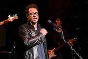 Photos of the musician Amos Lee performing live on stage at John Varvatos Bowery in New York, NY on August 2, 2016. © Matthew Eisman/ Getty Images. All Rights Reserved