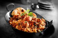 Char Griiled Chicken Byriani Indian cuisine