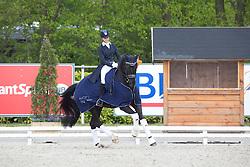 Maksakova A, (POL), Scampalo 6<br /> CDI3* Roosendaal 2015<br /> © Hippo Foto - Leanjo de Koster<br /> 09/05/15