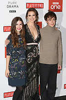 Philippa Coulthard, Hayley Atwell, Alex Lawther, Howards End - Special Screening, BFI Southbank, London UK, 01 November 2017, Photo by Richard Goldschmidt