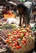 Lalibela, Ethiopia the market