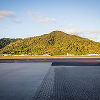 View from the tarmac at Cairns Airport
