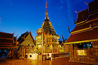 Thailande, Chiang Mai, Wat Phra That Doi Suthep // Thailand, Chiang Mai, Wat Phra That Doi Suthep