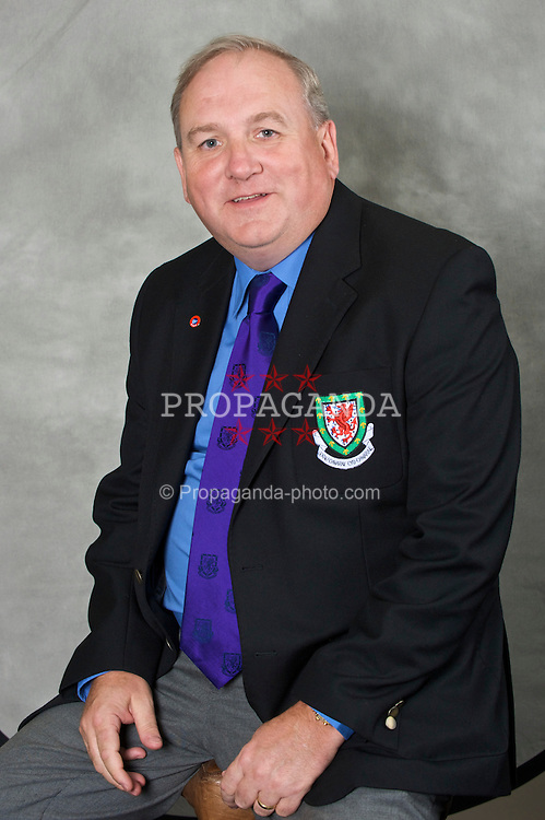 CHESTER, ENGLAND - Wednesday, August 26, 2009: Football Association of Wales Council Member Phil Woosnam. (Pic by David Rawcliffe/Propaganda)