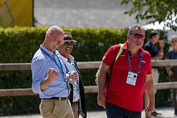 RÖSER Klaus (Chef d´Equipe), HILBERATH Jonny (Co-Bundestrainer)<br /> Aachen - CHIO 2018<br /> Deutsche Bank Preis <br /> Grand Prix Kür CDIO<br /> 22. Juli 2018<br /> © www.sportfotos-lafrentz.de/Stefan Lafrentz