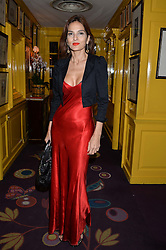 YASMIN MILLS at the mothers2mothers 15 Years of Wonder Women at held at Annabel's, Berekely Square, London on 9th November 2016.
