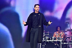 G-Eazy during Capital's Summertime Ball with Vodafone at Wembley Stadium, London. This summer's hottest artists performed live for 80,000 Capital listeners at Wembley Stadium at the UK's biggest summer party. Performers included Camila Cabello, Shawn Mendes, Rita Ora, Charlie Puth, Jess Glyne, Craig David, Anne-Marie, Rudimental, Sean Paul, Clean Bandit, James Arthur, Sigala, Years & Years, Jax Jones, Raye, Jonas Blue, Mabel, Stefflon Don, Yungen and G-Eazy