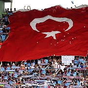 Trabzonspor's supporters celebrate victory during their Turkey Cup final match Trabzonspor between Fenerbahce at the GAP Arena Stadium at Urfa Turkey on wednesday, 05 May 2010. Photo by TURKPIX