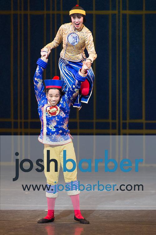 "Gabe Stone Shayer, Skylar Brandt during American Ballet Theatre's performance of ""The Nutcracker"" at Segerstrom Center for the Arts on Thursday, December 10, 2015 in Costa Mesa, California. (Photo/Josh Barber)"