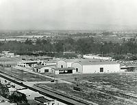 1929 Aerial view of Mack Sennett Studios in Studio City, CA