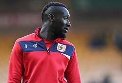 Famara Diedhiou of Bristol City warms up - Mandatory by-line: Arron Gent/JMP - 23/02/2019 - FOOTBALL - Carrow Road - Norwich, England - Norwich City v Bristol City - Sky Bet Championship