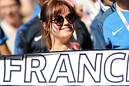 Fan of France during the 2018 FIFA World Cup Russia, Group C football match between Denmark and France on June 26, 2018 at Luzhniki Stadium in Moscow, Russia- Photo Tarso Sarraf / FramePhoto / ProSportsImages / DPPI