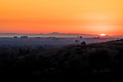 Irvine Skyline at Dusk