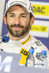 02.08.2014, Red Bull Ring, Spielberg, AUT, DTM Red Bull Ring, Qualifying, im Bild Pressekonferenz, Timo Glock, (GER, 2. Platz Qualifying, Deutsche Post BMW M4 DTM) // during the DTM Championships 2014 at the Red Bull Ring in Spielberg, Austria, 2014/08/02, EXPA Pictures © 2014, PhotoCredit: EXPA/ M.Kuhnke
