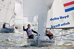 08_002628 © Sander van der Borch. Medemblik - The Netherlands,  May 24th 2008 . Day 4 of the Delta Lloyd Regatta 2008.