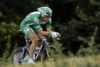 Sykkel<br /> Tour de France 2006<br /> Foto: Dppi/Digitalsport<br /> NORWAY ONLY<br /> <br /> CYCLING - UCI PRO TOUR - TOUR DE FRANCE 2006 - 08/07/2006<br />                           <br /> STAGE 7 - TIME TRIAL - SAINT-GREGOIRE>RENNES - THOR HUSHOVD (NOR) / CREDIT AGRICOLE