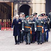 NLD/Den Haag/20160315 - Uitreiking Militaire Willemsorde aan Korps Commando Troepen, Kenneth George Mayhew, Marco kroon en Gijs Tuinman