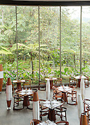 Restaurant at Mashpi Lodge, Cloud Forest, Mashpi Reserve, Distrito Metropolitano de Quito, Ecuador