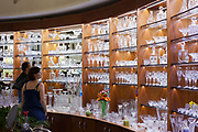 Morso Crystal shop; Prague, Czech Republic.
