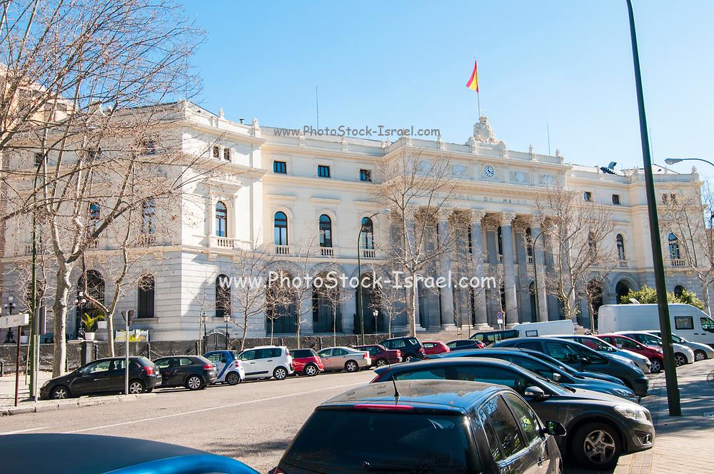 Bolsa de Madrid (Madrid stock exchange), Spain
