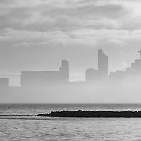 River Mersey - Foggy