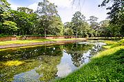 Pool, Pond, Royal Palace, Angkor Thom, Cambodia
