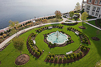 Aerial View Of Gardens at the Ritz Carlton Condominiums