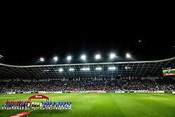 Stadium during the 2020 UEFA European Championships group G qualifying match between Slovenia and Austria at SRC Stozice on October 13, 2019 in Ljubljana, Slovenia. Photo by Vid Ponikvar / Sportida