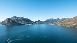 View of Hout Bay from Chapman's Peak Drive, Cape Peninsula, South Africa
