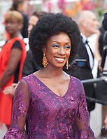 Maimouna N'Diaye at the Opening Ceremony and The Dead Don't Die gala screening at the 72nd Cannes Film Festival Tuesday 14th May 2019, Cannes, France. Photo credit: Doreen Kennedy