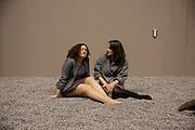 ZARA WARSHAL; LAELIA SINDEN, Ai Weiwei Unilever series opening. Tate Modern. 11 October 2010. -DO NOT ARCHIVE-© Copyright Photograph by Dafydd Jones. 248 Clapham Rd. London SW9 0PZ. Tel 0207 820 0771. www.dafjones.com.