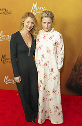 December 4, 2018 - New York, New York, United States - Claire Danes and Mamie Gummer  attend the New York premiere of 'Mary Queen Of Scots' at Paris Theater  (Credit Image: © Lev Radin/Pacific Press via ZUMA Wire)