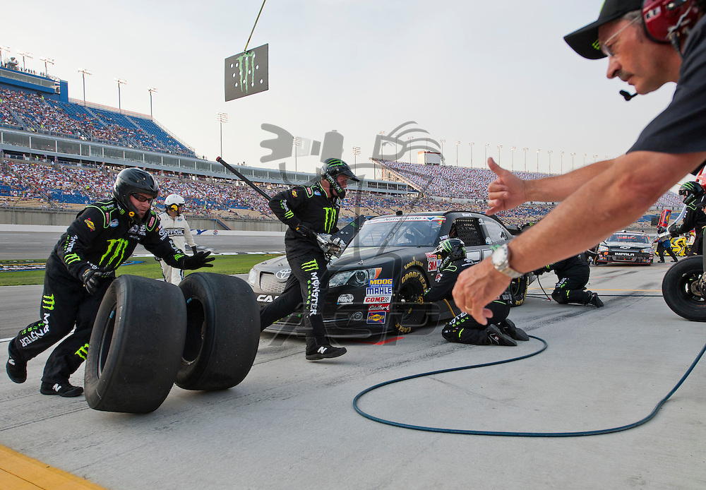 Sparta, KY - JUN 29, 2012:  during Feed the Children 300 at the Kentucky Speedway in Sparta, KY.