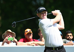 May 25, 2017 - Virginia Water, United Kingdom - Stephen Gallacher of Scotlandduring 1st Round for the 2017 BMW PGA Championship on the west Course at Wentworth on May 25, 2017 in Virginia Water,England  (Credit Image: © Kieran Galvin/NurPhoto via ZUMA Press)