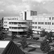 NLD/Huizen/19911002 - Kantorencentrum Gooierserf aan de Huizermaatweg  Huizen ext. bovenaanzicht
