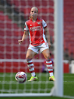 Football - 2021 / 2022 Women's Super League - Arsenal vs Chelsea - Emirates Stadium - Sunday 5th September 2021<br /> <br /> Arsenal Women's Beth Mead scores her side's third goal.<br /> <br /> COLORSPORT/Ashley Western
