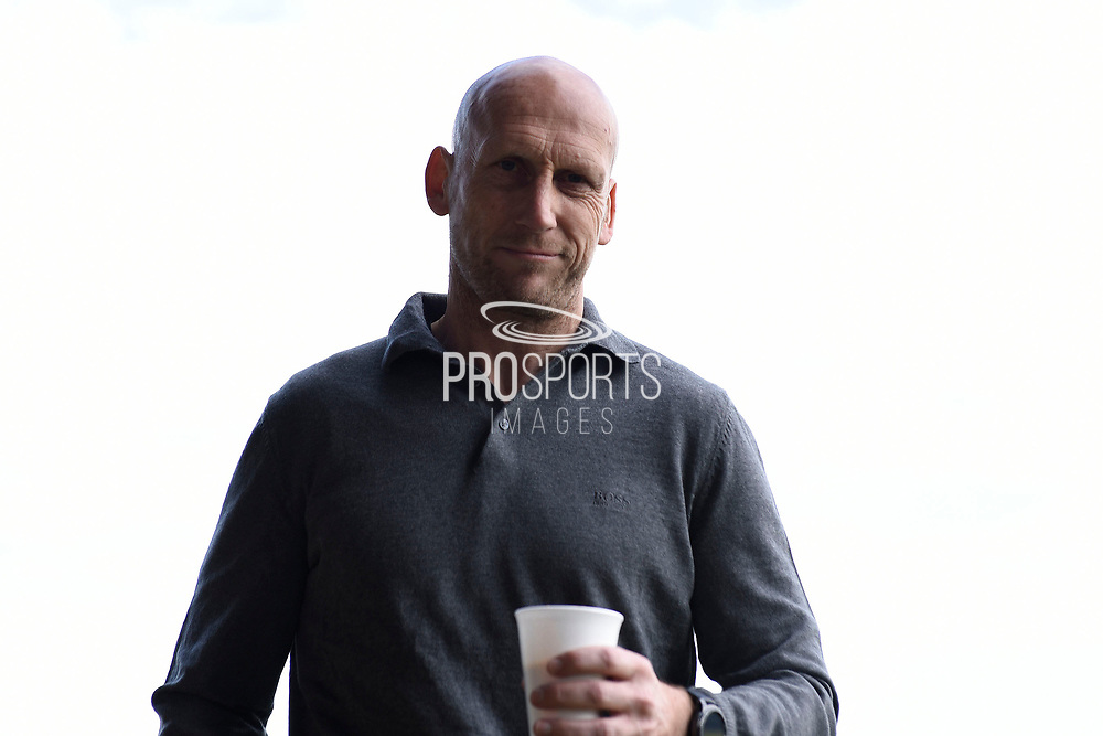 Reading first team manager Jaap Stam during the EFL Sky Bet Championship match between Burton Albion and Reading at the Pirelli Stadium, Burton upon Trent, England on 7 May 2017. Photo by Richard Holmes.