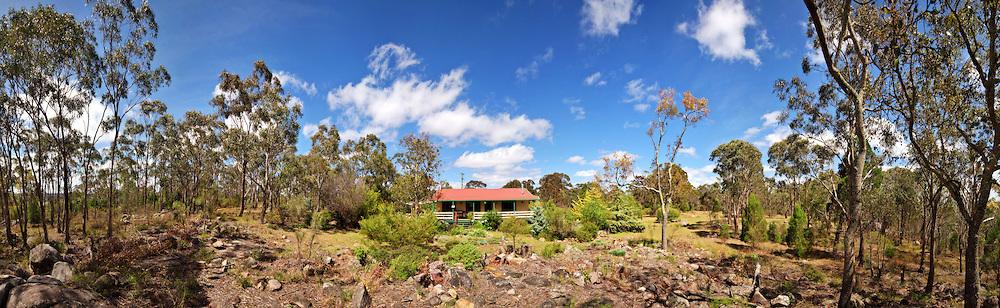 House in the Australian bush near Stanthorpe, Queensland