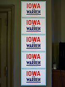 25 APRIL 2019 - CEDAR RAPIDS, IOWA: at the Linn Phoenix Club in Cedar Rapids. The Linn Phoenix Club is an organization that promotes Democratic candidates in Linn County, Iowa. Sen. Warren is campaigning in eastern Iowa Thursday night and Friday. Iowa traditionally hosts the the first selection event of the presidential election cycle. The Iowa Caucuses will be on Feb. 3, 2020.            PHOTO BY JACK KURTZ