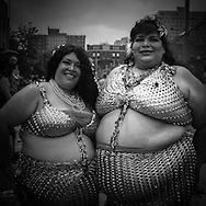 New York , Brooklyn ,  Coney island.  Mermaid parade on Brighton beach