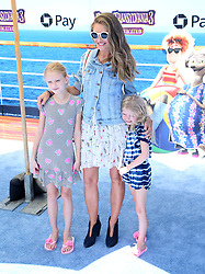 July 1, 2018 - Los Angeles, California, USA - 6/30/18.Rebecca Gayheart with her daughters Billie Dane and Georgia Dane at the premiere of ''Hotel Transylvania 3: Summer Vacation'' held at the Westwood Village Theatre in Los Angeles, CA. (Credit Image: © Starmax/Newscom via ZUMA Press)
