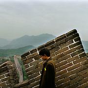 China - Mutianyu-21-05-2006<br /> De Chinese muur ( The great Wall ) bij Mutianyu 70 km van Beijing ( Peking ).<br /> Foto: Sake Elzinga